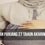 Masya allah 27 Tahun Menanti Momongan Akhirnya Hamil Juga